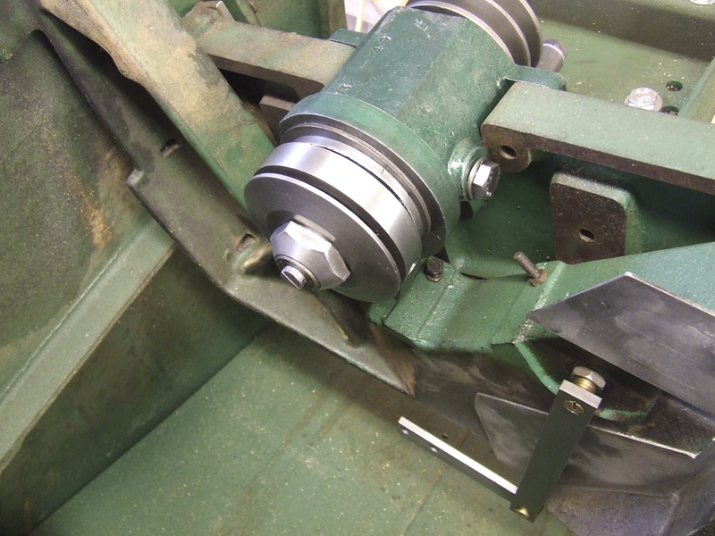 spindle assembly refitted