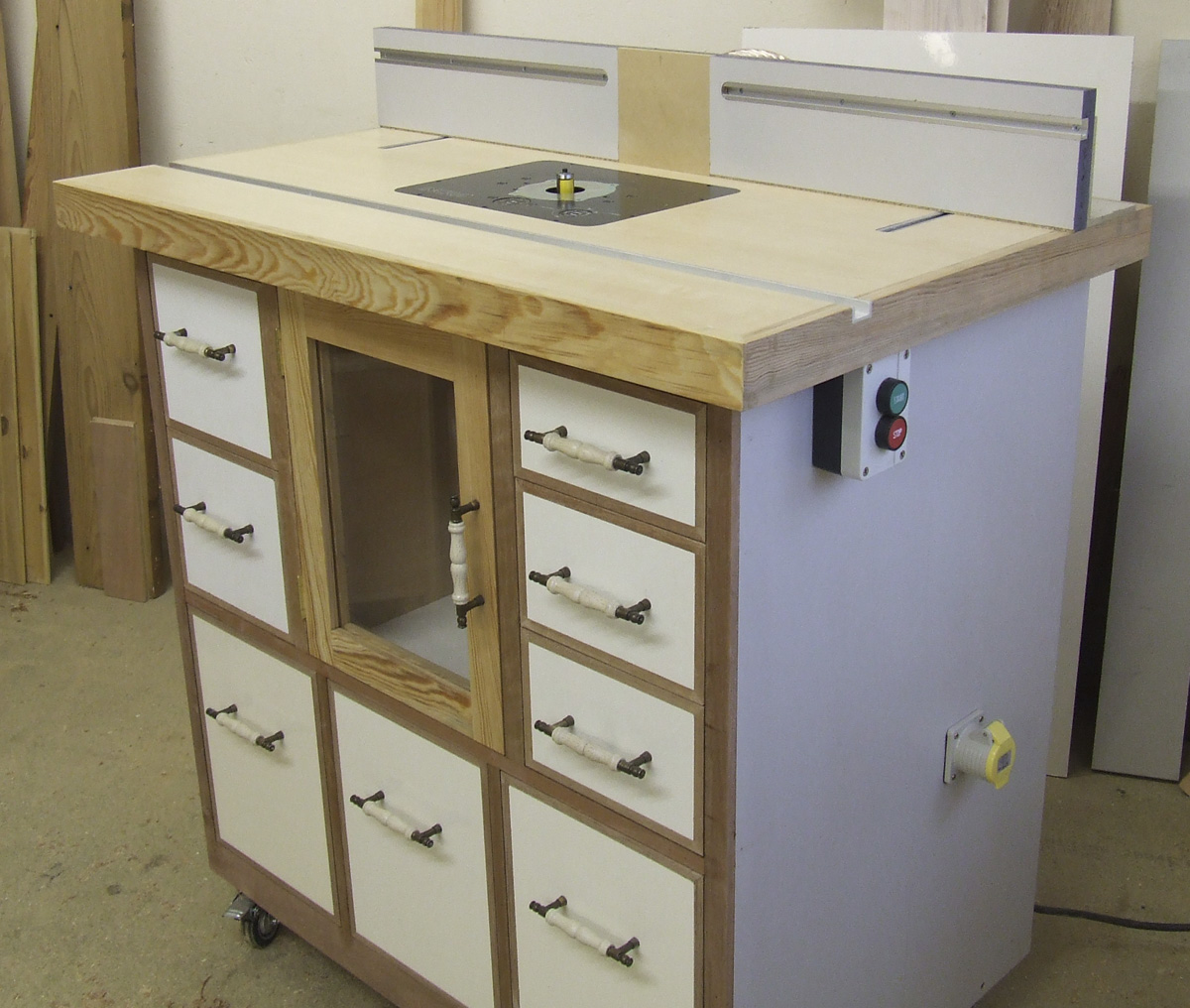 Custom-built Router Table