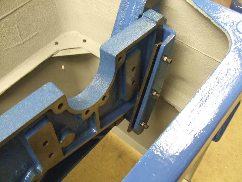 Wadkin Bursgreen 12AGS motor bracket trapping piece
