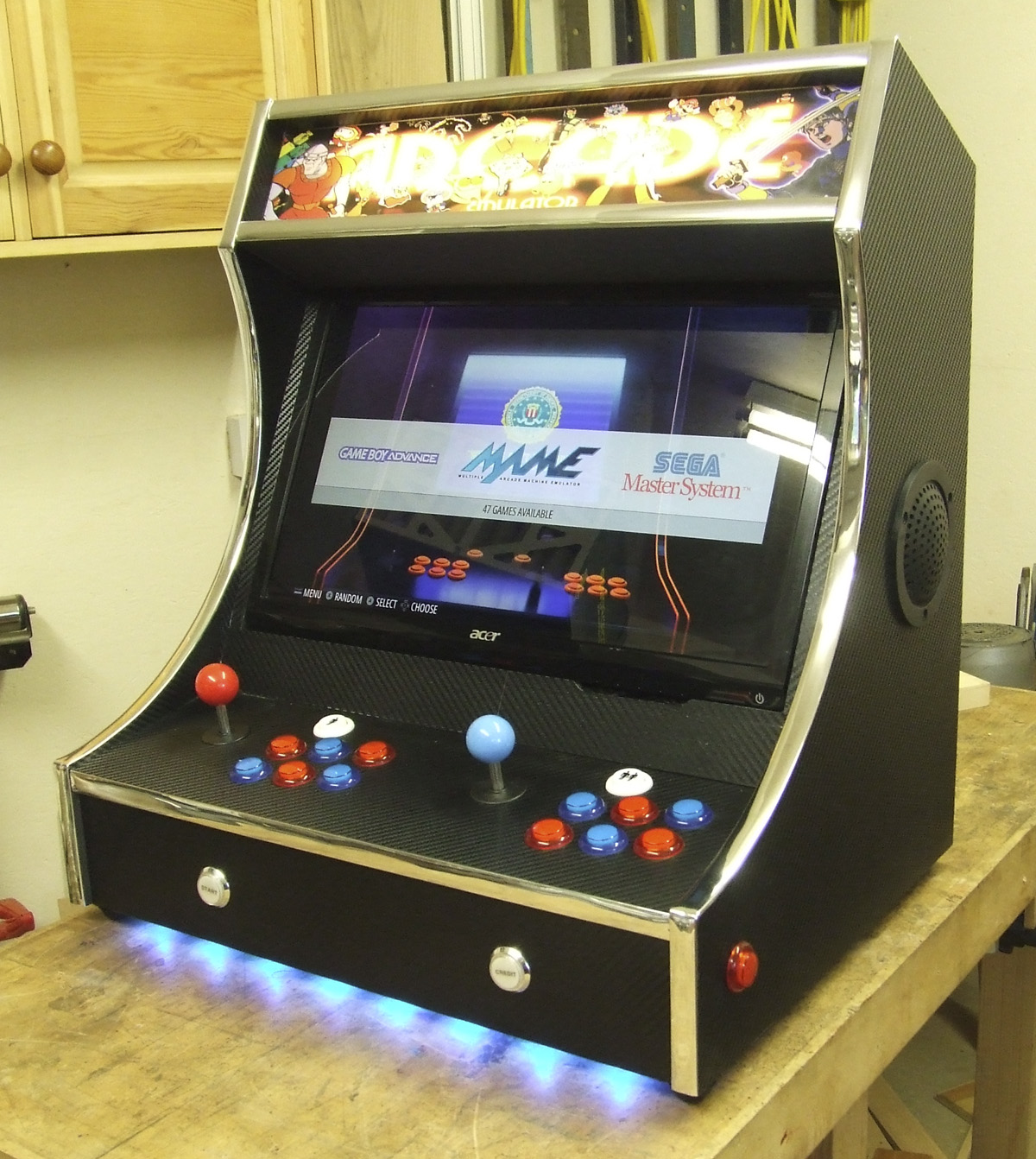 Bartop Arcade Machine V1