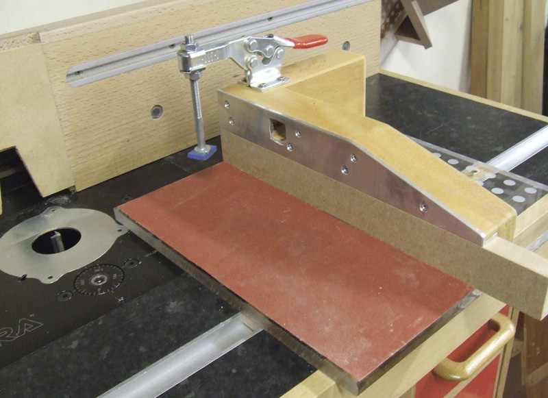 Router Table Tenon Sled