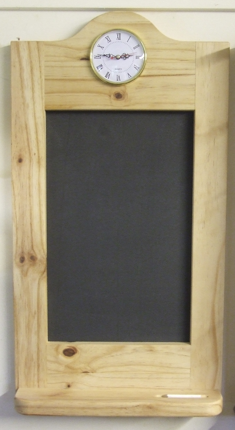 Wall hung chalk board