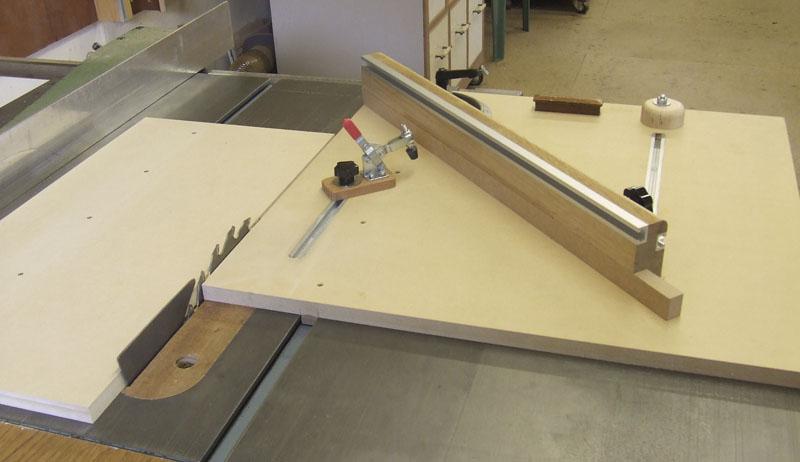 shopbuilt mitre cross-cut sled