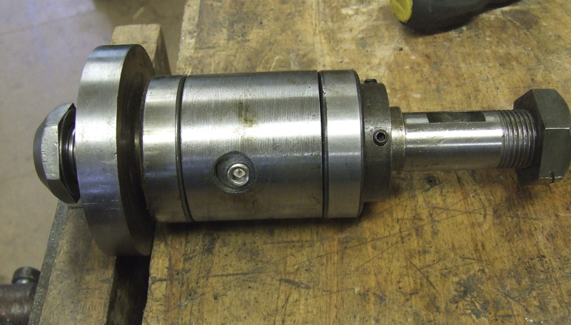 Spindle assembly removed from housing