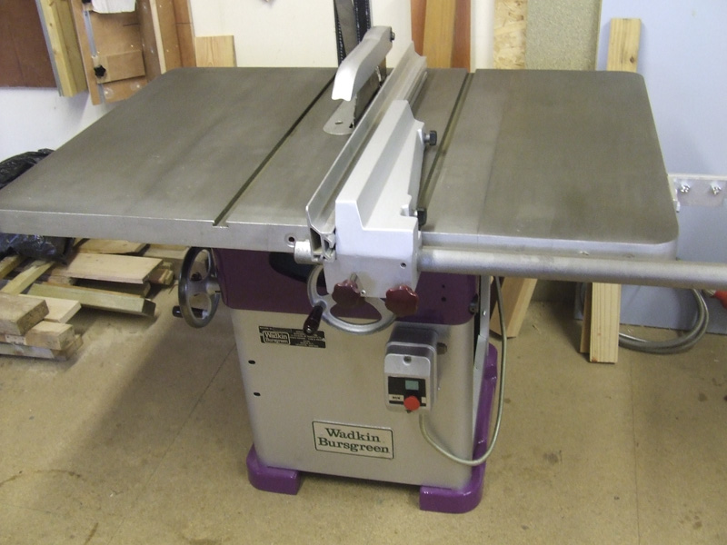 Wadkin Bursgreen 12 AGS table saw