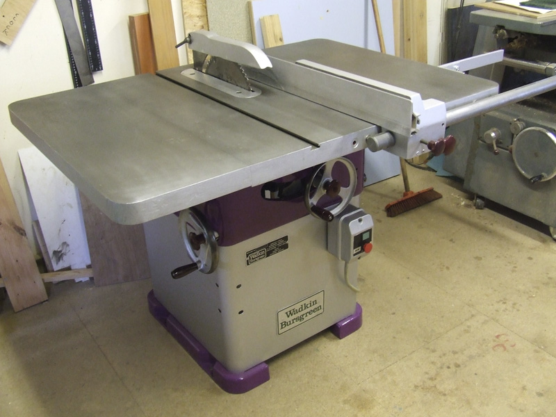 Wadkin 12 AGS table saw