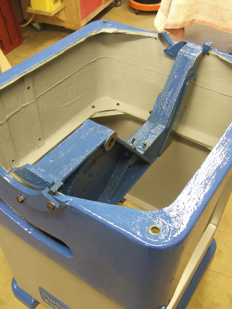 Wadkin Bursgreen 12AGS trunnion bracket fitted