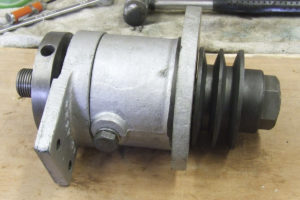 Wadkin 12AGS Spindle housing & spindle pulley