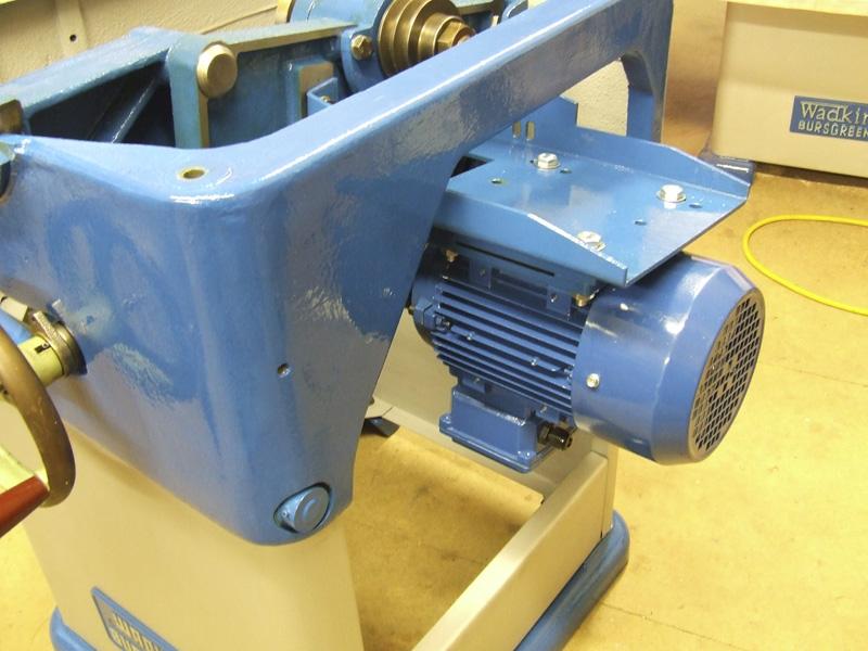 Wadkin Bursgreen 12AGS 3-phase Motor Fitted