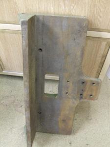 Sedgwick 571 mortising machine table
