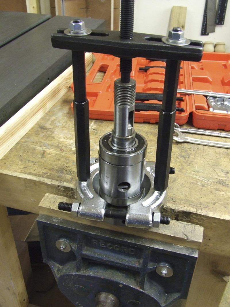 Removing bearings