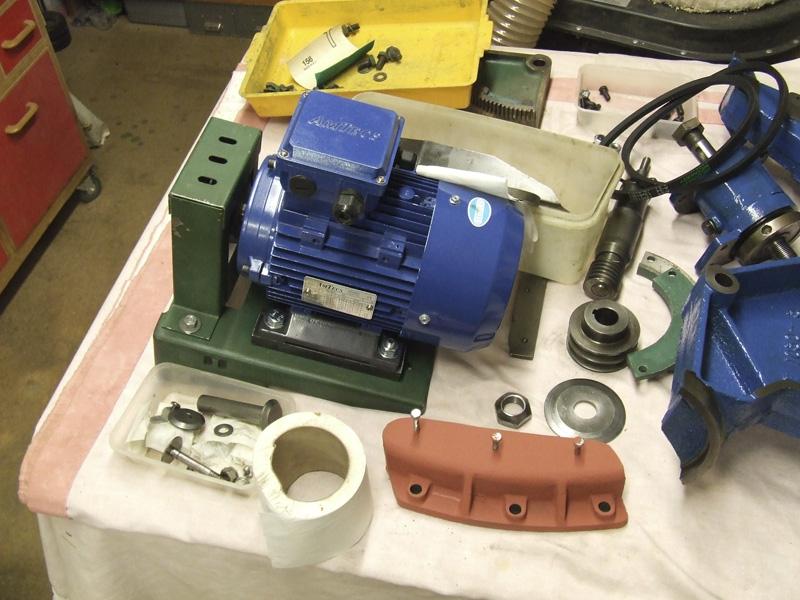 Wadkin Bursgreen 12AGS 3-phase electric motor