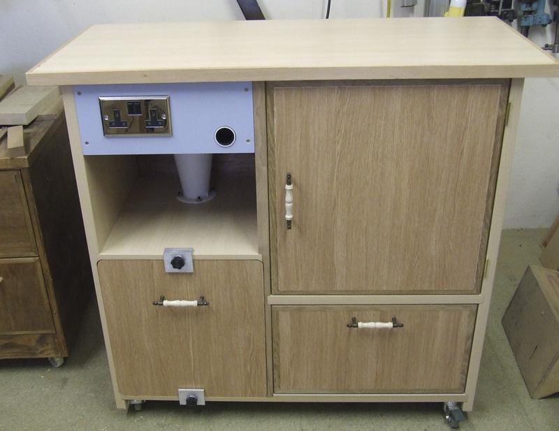 Cyclone Vacmaster Cabinet