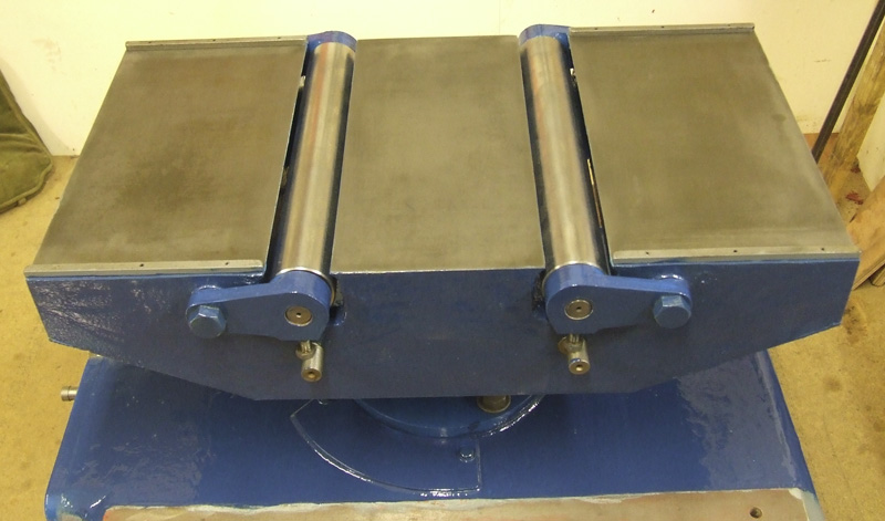 Dominion Surfacing and Thicknessing Planer bed and rollers