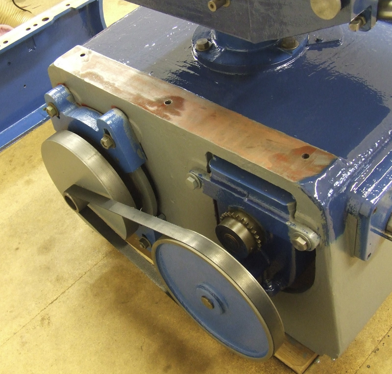 Dominion Surfacing and Thicknessing Planer gearbox drivebelt