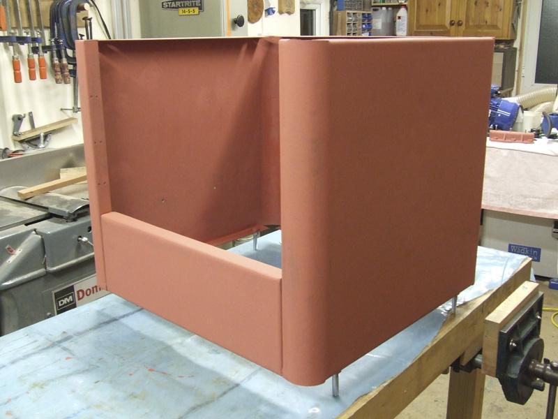 Wadkin Bursgreen 12AGS Sheet metal base prepared and primed