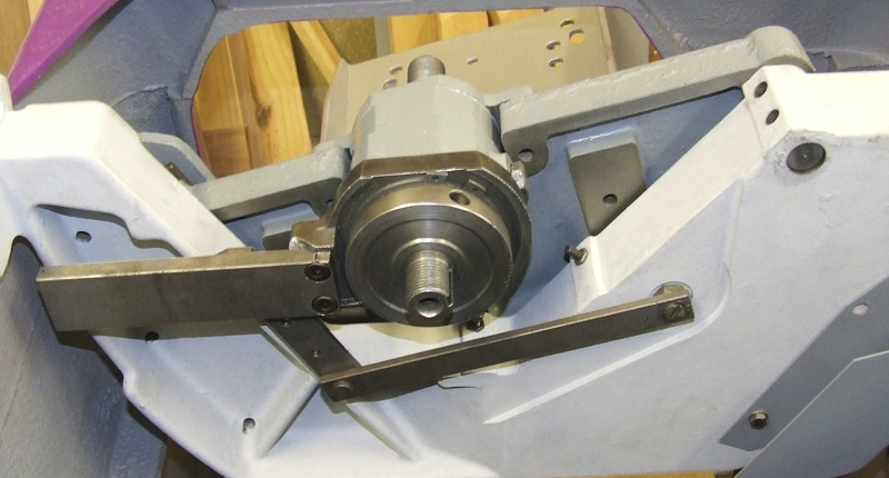 saw spindle assembly and riving knife bracket