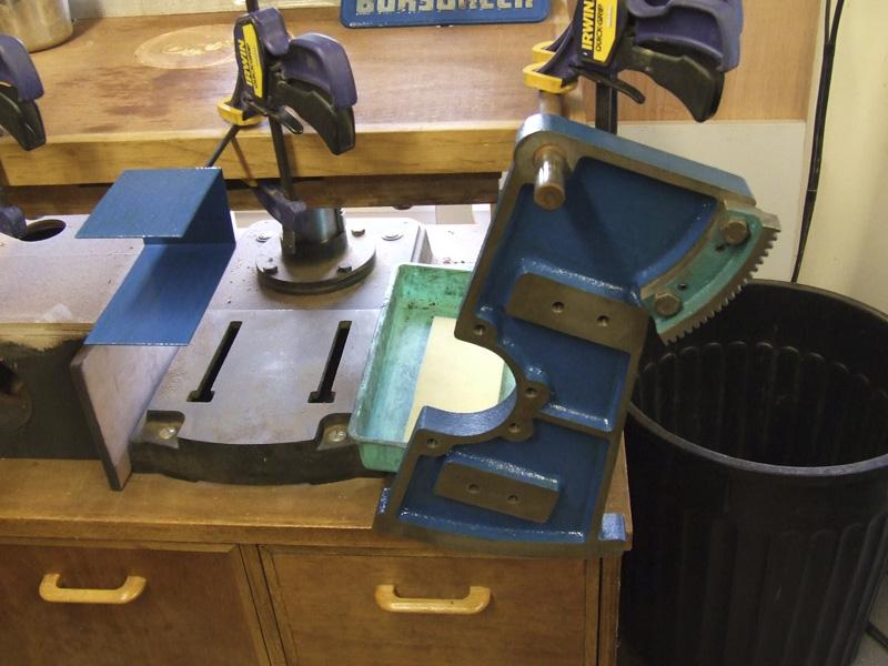 Wadkin Bursgreen 12AGS Slide Bracket