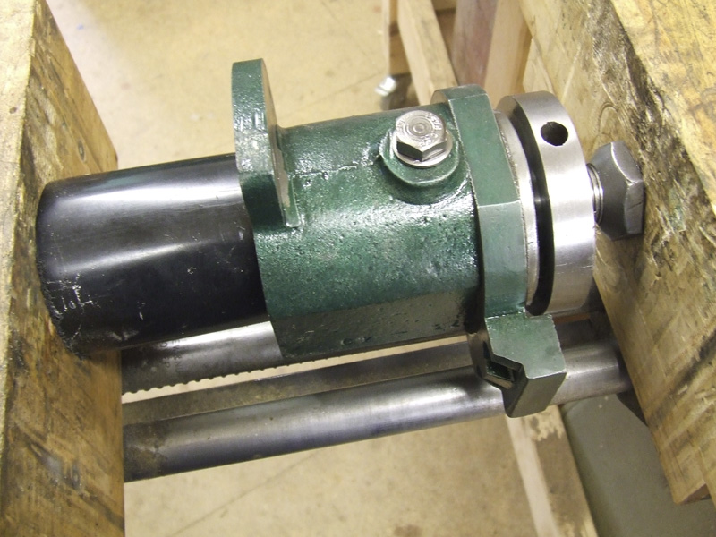 pressing spindle assembly into housing
