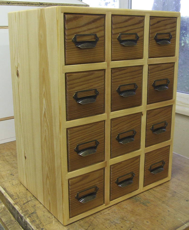 Apothecary Cabinet 12 Drawer