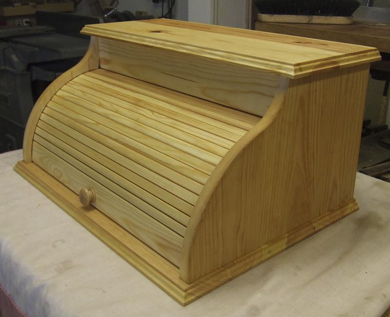 Bread Box with Tambour door