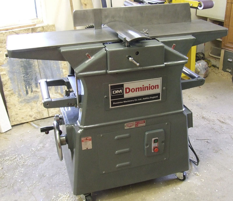 Dominion-planer-thicknesser-fully-restored-9