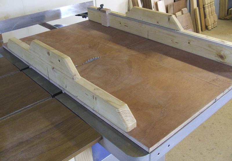 Large crosscut sled