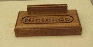 Nintendo Wooden Stand 2