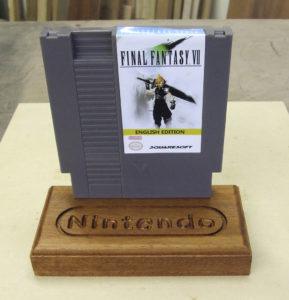 Nintendo Wooden Stand 3