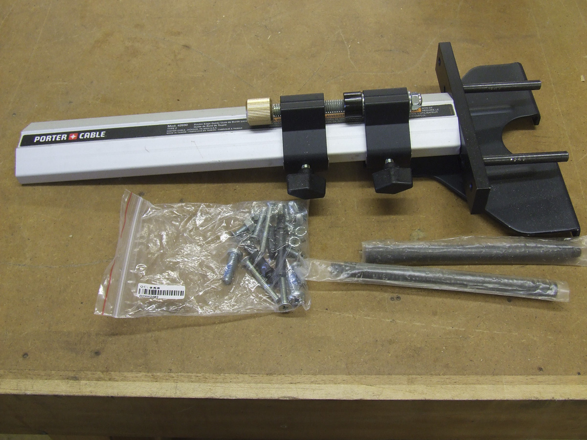 Porter-cable 42690 Micro-adjust Router Edge and Circle Cutting Guide