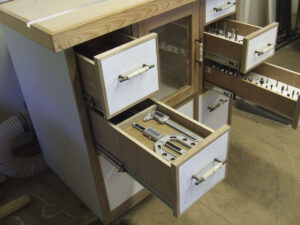 Custom built router table