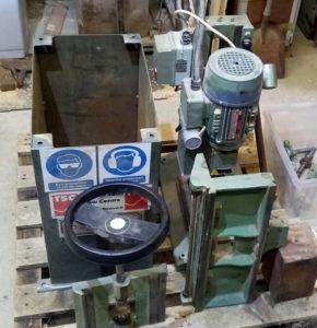 Sedgwick 571 mortising machine dismantled