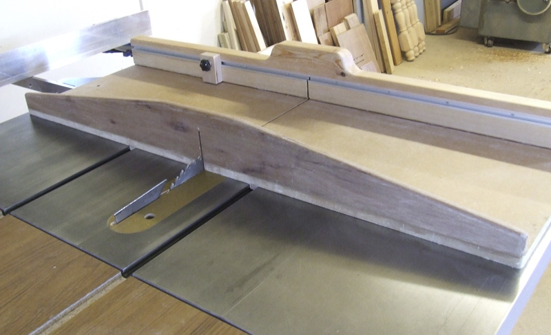 Smaller crosscut sled