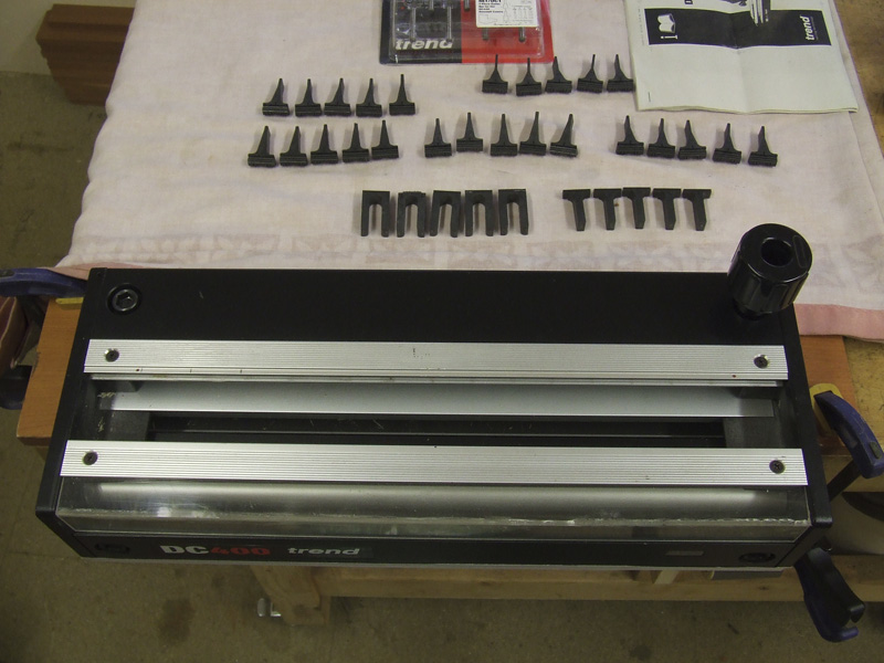 Trend DC400 Dovetail Centre 3