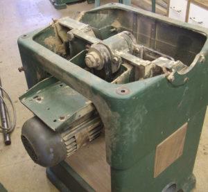 Wadkin 12AGS before restoration