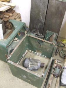 Wadkin 12AGS dismantled