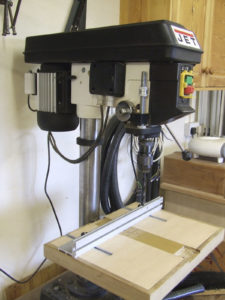 JET JDP-15 Bench Mounted Pillar Drill