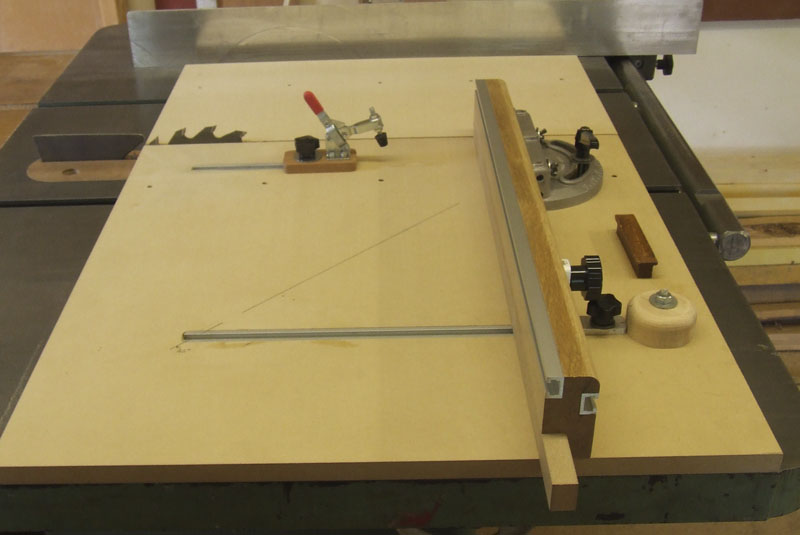 shopbuilt mitre cross-cut sled